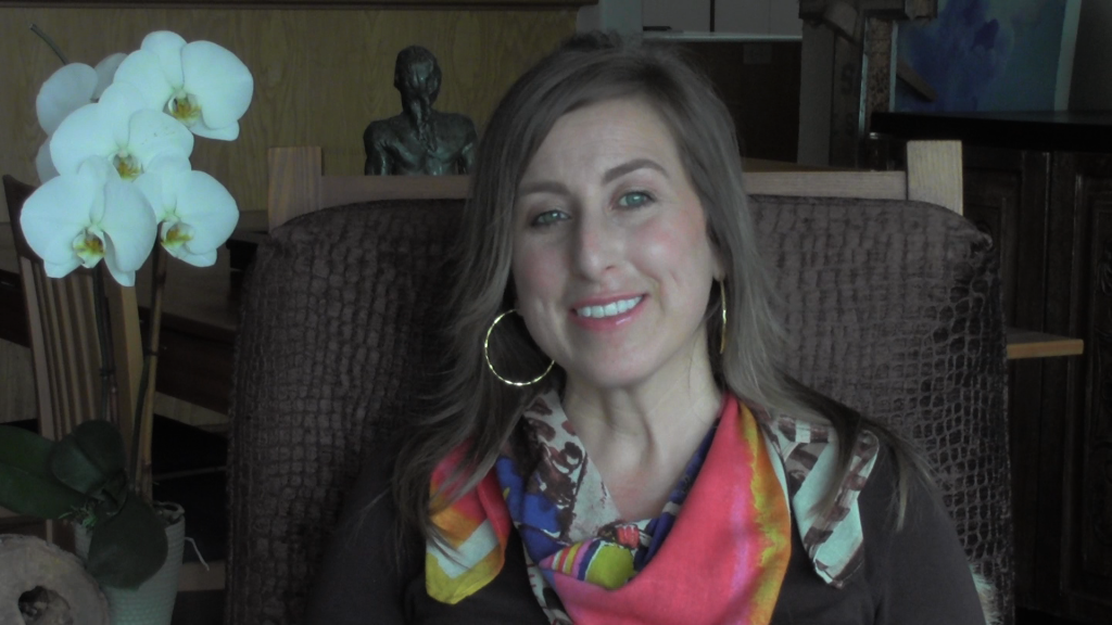 Click to watch video of Brandy Amstel talking about the Living Powerfully movies.