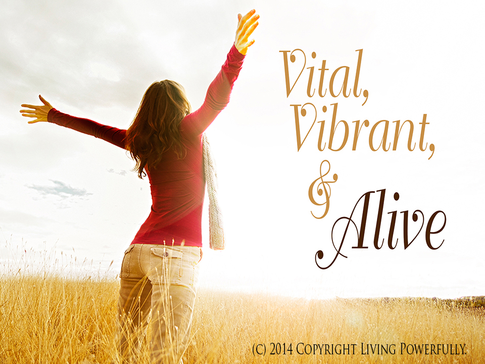 Vital, Vibrant and Alive the movie with Brandy Amstel